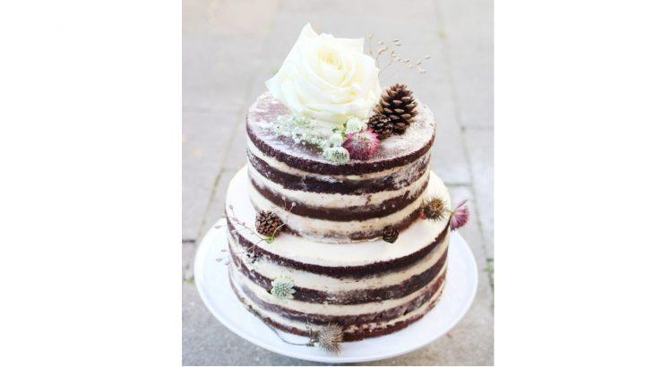 Vegane Hochzeitstorte Naked Cake Mavie Food Vegan