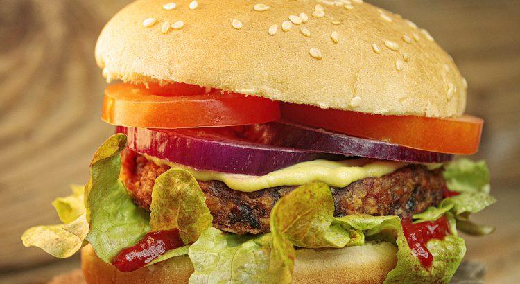 Hamburger vegan