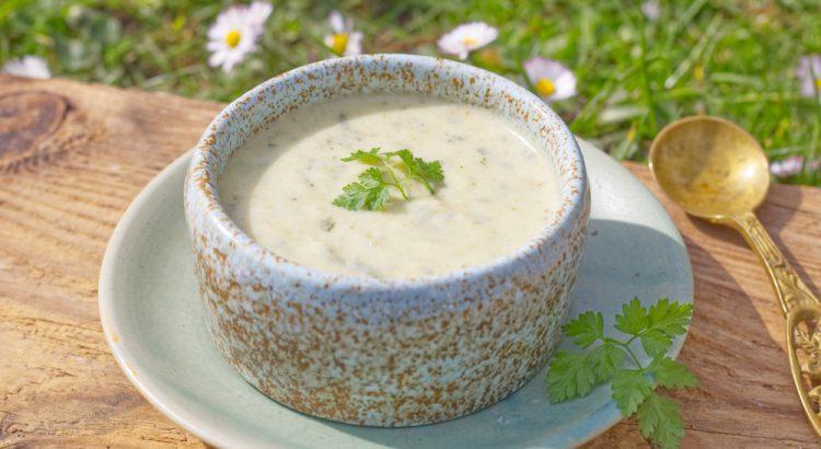 Kerbel-Creme-Suppe